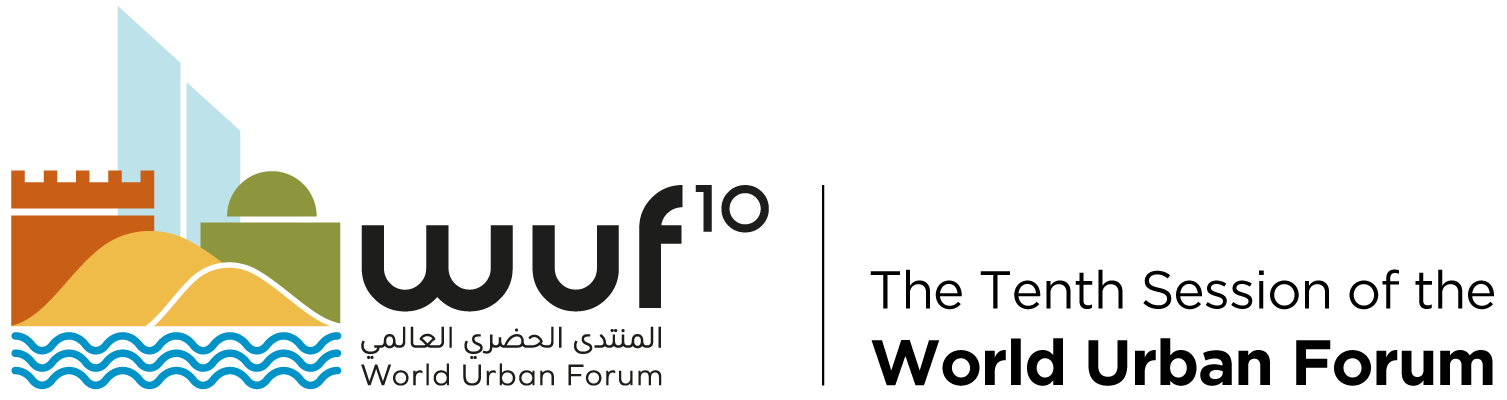 Logo of the 10th World Urban Forum